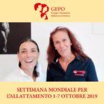 Settimana mondiale allattamento 2019